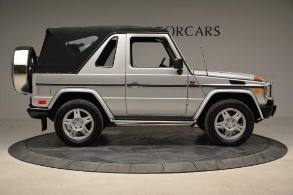 Used 1999 Mercedes Benz G500 Cabriolet for sale Sold at Alfa Romeo of Westport in Westport CT 06880 18