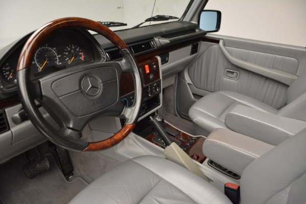 Used 1999 Mercedes Benz G500 Cabriolet for sale Sold at Alfa Romeo of Westport in Westport CT 06880 22