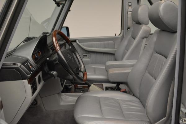 Used 1999 Mercedes Benz G500 Cabriolet for sale Sold at Alfa Romeo of Westport in Westport CT 06880 23