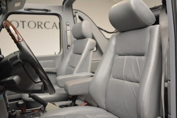 Used 1999 Mercedes Benz G500 Cabriolet for sale Sold at Alfa Romeo of Westport in Westport CT 06880 24