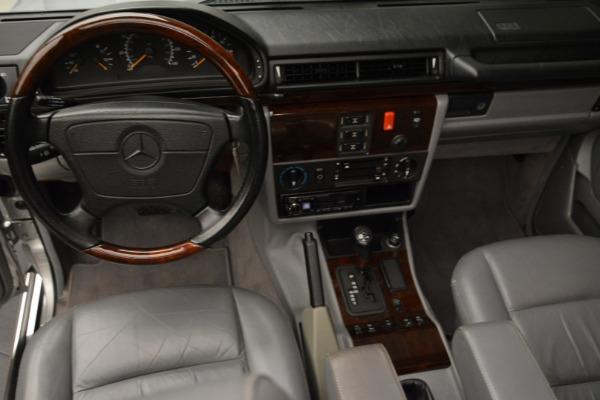 Used 1999 Mercedes Benz G500 Cabriolet for sale Sold at Alfa Romeo of Westport in Westport CT 06880 25