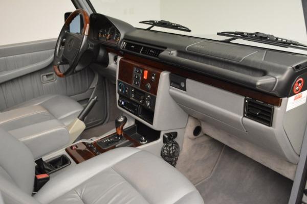 Used 1999 Mercedes Benz G500 Cabriolet for sale Sold at Alfa Romeo of Westport in Westport CT 06880 26