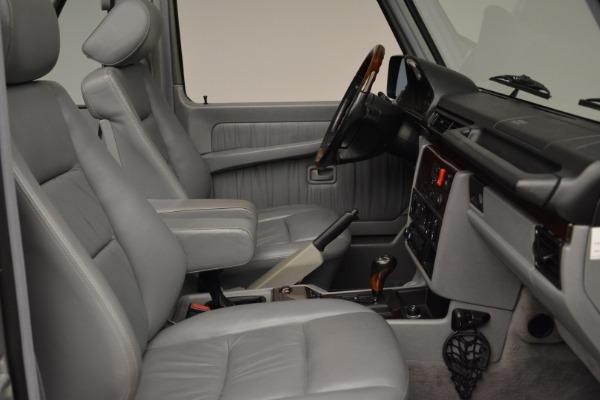 Used 1999 Mercedes Benz G500 Cabriolet for sale Sold at Alfa Romeo of Westport in Westport CT 06880 27