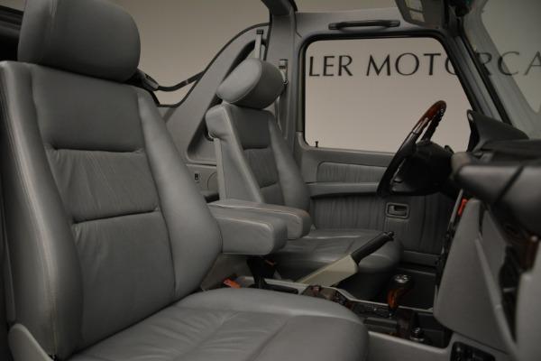 Used 1999 Mercedes Benz G500 Cabriolet for sale Sold at Alfa Romeo of Westport in Westport CT 06880 28