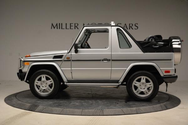 Used 1999 Mercedes Benz G500 Cabriolet for sale Sold at Alfa Romeo of Westport in Westport CT 06880 3