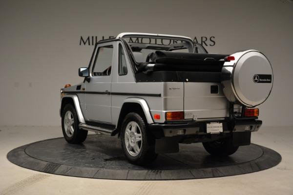 Used 1999 Mercedes Benz G500 Cabriolet for sale Sold at Alfa Romeo of Westport in Westport CT 06880 5