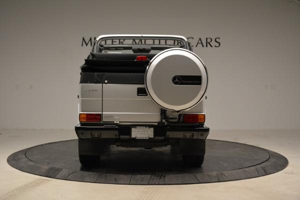 Used 1999 Mercedes Benz G500 Cabriolet for sale Sold at Alfa Romeo of Westport in Westport CT 06880 6