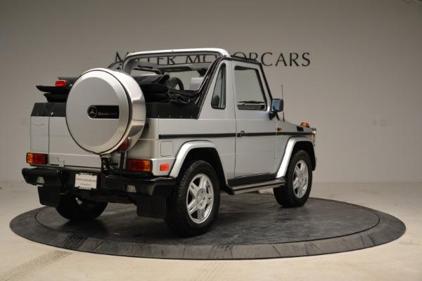 Used 1999 Mercedes Benz G500 Cabriolet for sale Sold at Alfa Romeo of Westport in Westport CT 06880 7