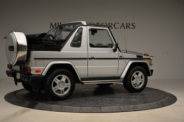 Used 1999 Mercedes Benz G500 Cabriolet for sale Sold at Alfa Romeo of Westport in Westport CT 06880 8