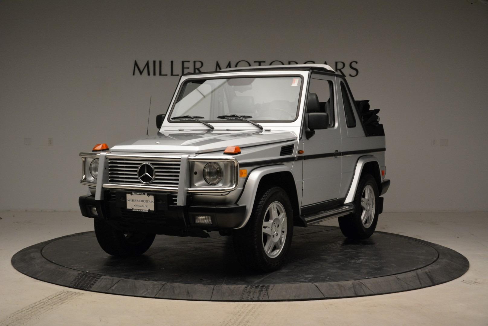Used 1999 Mercedes Benz G500 Cabriolet for sale Sold at Alfa Romeo of Westport in Westport CT 06880 1