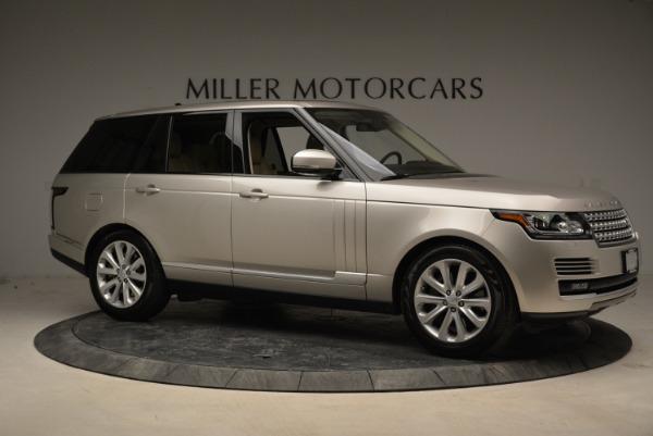Used 2016 Land Rover Range Rover HSE for sale Sold at Alfa Romeo of Westport in Westport CT 06880 10