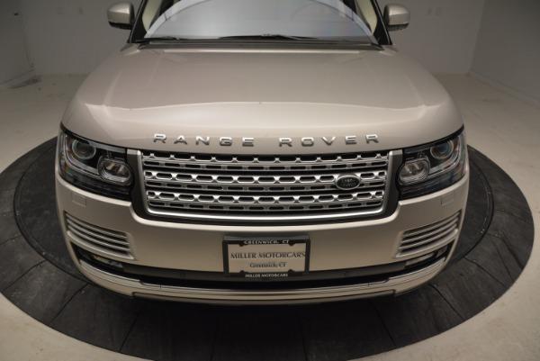 Used 2016 Land Rover Range Rover HSE for sale Sold at Alfa Romeo of Westport in Westport CT 06880 13