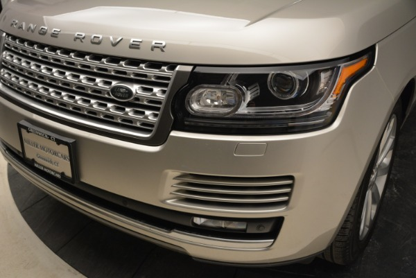Used 2016 Land Rover Range Rover HSE for sale Sold at Alfa Romeo of Westport in Westport CT 06880 14