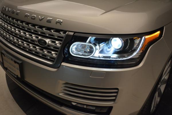Used 2016 Land Rover Range Rover HSE for sale Sold at Alfa Romeo of Westport in Westport CT 06880 15