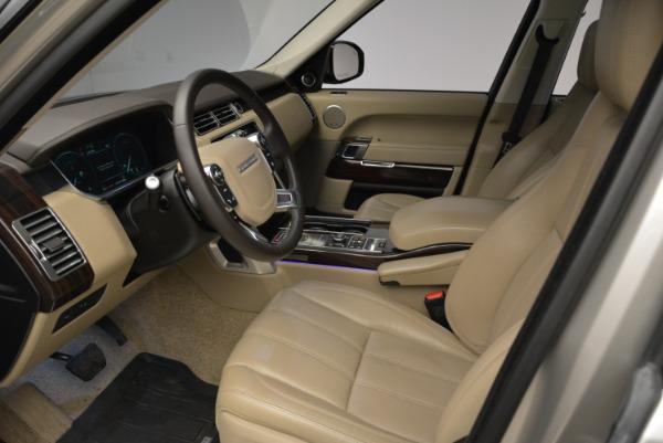 Used 2016 Land Rover Range Rover HSE for sale Sold at Alfa Romeo of Westport in Westport CT 06880 17