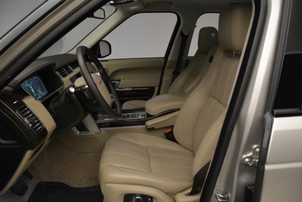 Used 2016 Land Rover Range Rover HSE for sale Sold at Alfa Romeo of Westport in Westport CT 06880 18