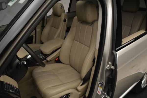 Used 2016 Land Rover Range Rover HSE for sale Sold at Alfa Romeo of Westport in Westport CT 06880 19
