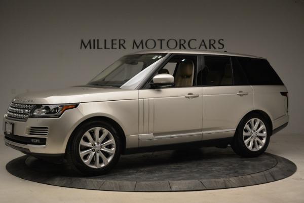 Used 2016 Land Rover Range Rover HSE for sale Sold at Alfa Romeo of Westport in Westport CT 06880 2