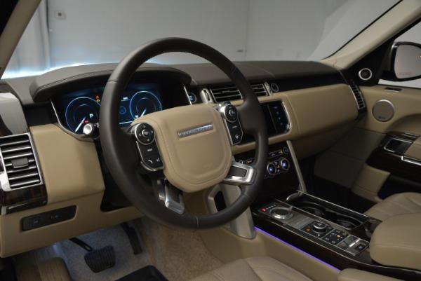 Used 2016 Land Rover Range Rover HSE for sale Sold at Alfa Romeo of Westport in Westport CT 06880 20