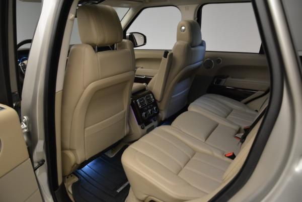 Used 2016 Land Rover Range Rover HSE for sale Sold at Alfa Romeo of Westport in Westport CT 06880 23