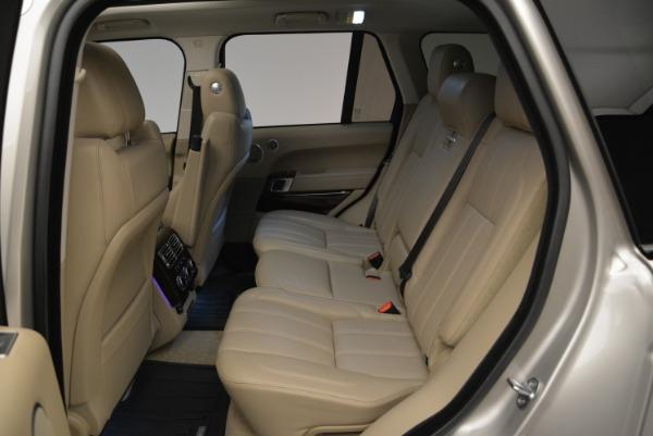 Used 2016 Land Rover Range Rover HSE for sale Sold at Alfa Romeo of Westport in Westport CT 06880 24