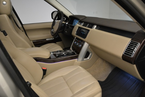Used 2016 Land Rover Range Rover HSE for sale Sold at Alfa Romeo of Westport in Westport CT 06880 27