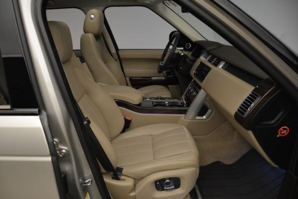 Used 2016 Land Rover Range Rover HSE for sale Sold at Alfa Romeo of Westport in Westport CT 06880 28