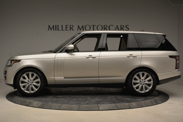 Used 2016 Land Rover Range Rover HSE for sale Sold at Alfa Romeo of Westport in Westport CT 06880 3