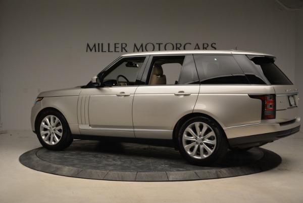Used 2016 Land Rover Range Rover HSE for sale Sold at Alfa Romeo of Westport in Westport CT 06880 4