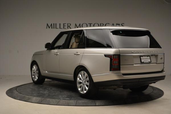 Used 2016 Land Rover Range Rover HSE for sale Sold at Alfa Romeo of Westport in Westport CT 06880 5
