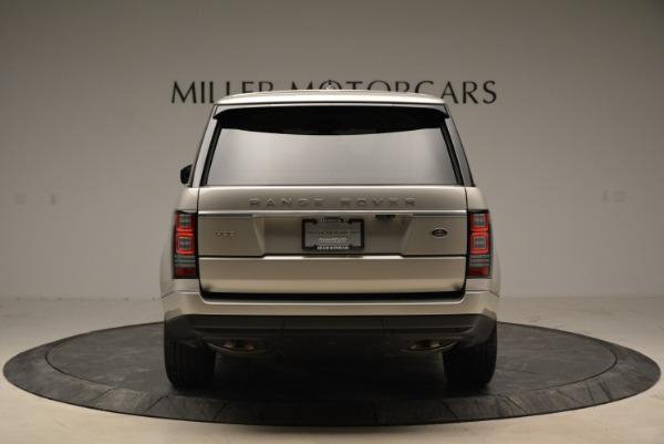 Used 2016 Land Rover Range Rover HSE for sale Sold at Alfa Romeo of Westport in Westport CT 06880 6