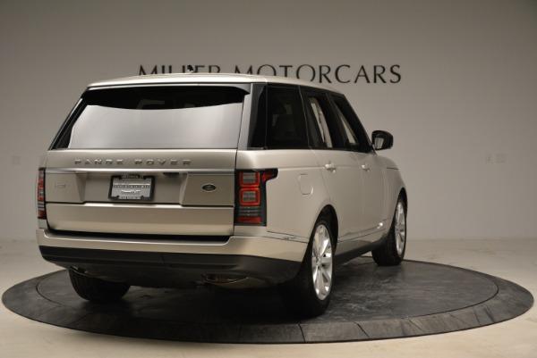 Used 2016 Land Rover Range Rover HSE for sale Sold at Alfa Romeo of Westport in Westport CT 06880 7