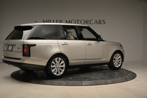 Used 2016 Land Rover Range Rover HSE for sale Sold at Alfa Romeo of Westport in Westport CT 06880 8