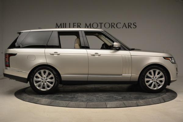 Used 2016 Land Rover Range Rover HSE for sale Sold at Alfa Romeo of Westport in Westport CT 06880 9
