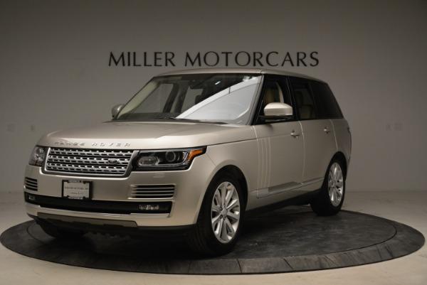 Used 2016 Land Rover Range Rover HSE for sale Sold at Alfa Romeo of Westport in Westport CT 06880 1