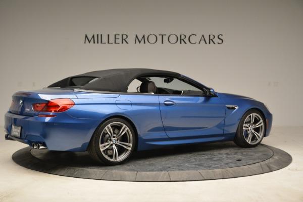 Used 2013 BMW M6 Convertible for sale Sold at Alfa Romeo of Westport in Westport CT 06880 20