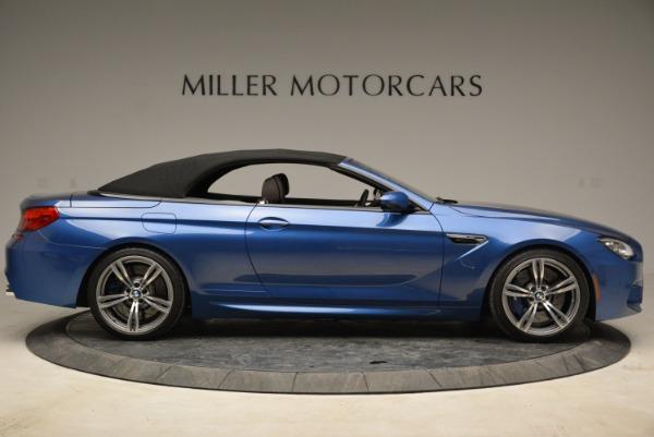 Used 2013 BMW M6 Convertible for sale Sold at Alfa Romeo of Westport in Westport CT 06880 21
