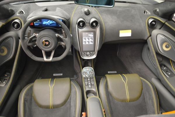 New 2018 McLaren 570S Spider for sale Sold at Alfa Romeo of Westport in Westport CT 06880 25