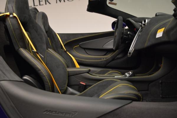 New 2018 McLaren 570S Spider for sale Sold at Alfa Romeo of Westport in Westport CT 06880 27
