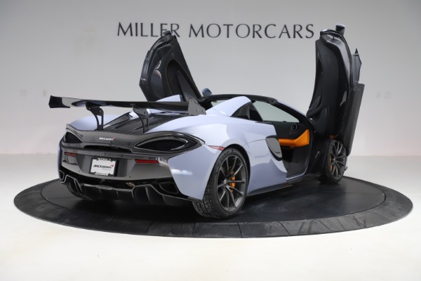 Used 2018 McLaren 570S Spider for sale Sold at Alfa Romeo of Westport in Westport CT 06880 22