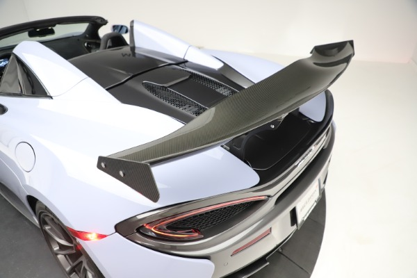 Used 2018 McLaren 570S Spider for sale Sold at Alfa Romeo of Westport in Westport CT 06880 26