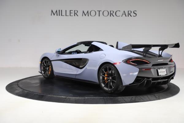 Used 2018 McLaren 570S Spider for sale Sold at Alfa Romeo of Westport in Westport CT 06880 3