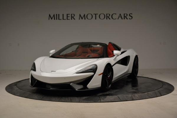 New 2018 McLaren 570S Spider for sale Sold at Alfa Romeo of Westport in Westport CT 06880 2