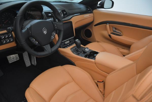 New 2018 Maserati GranTurismo MC Convertible for sale Sold at Alfa Romeo of Westport in Westport CT 06880 24