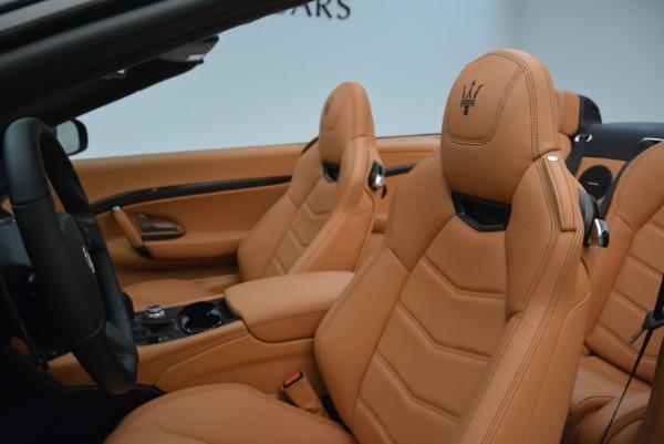 New 2018 Maserati GranTurismo MC Convertible for sale Sold at Alfa Romeo of Westport in Westport CT 06880 26