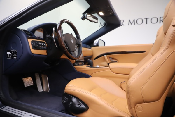 Used 2018 Maserati GranTurismo Sport Convertible for sale Sold at Alfa Romeo of Westport in Westport CT 06880 20