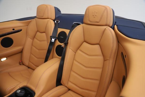 Used 2018 Maserati GranTurismo Sport Convertible for sale Sold at Alfa Romeo of Westport in Westport CT 06880 24