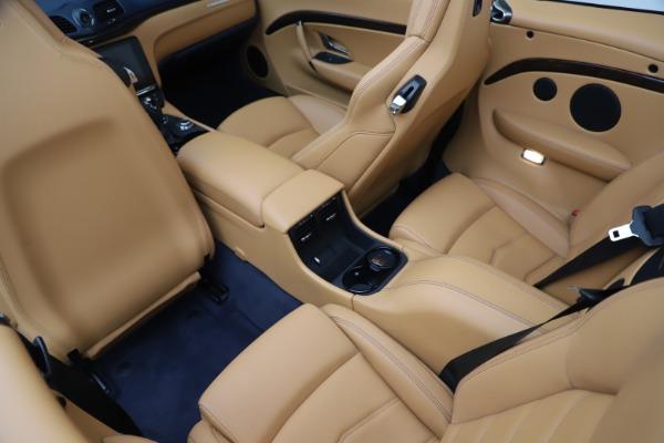 Used 2018 Maserati GranTurismo Sport Convertible for sale Sold at Alfa Romeo of Westport in Westport CT 06880 25