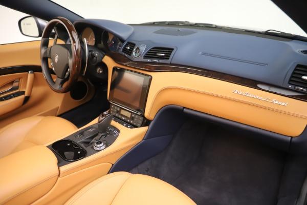 Used 2018 Maserati GranTurismo Sport Convertible for sale Sold at Alfa Romeo of Westport in Westport CT 06880 26