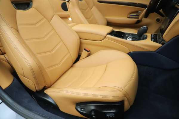 Used 2018 Maserati GranTurismo Sport Convertible for sale Sold at Alfa Romeo of Westport in Westport CT 06880 28